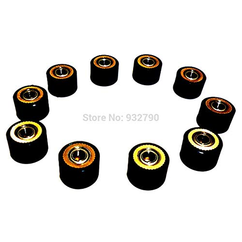 FINCOS 1/2/3/4/5/6/10pcs Pinch Roller 4x10mmx14mm Roller Bearing for Roland Cutting Plotter Vinyl Cutter Paper Pressing Wheel - (Color: 10pcs) by FINCOS (Image #1)