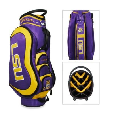Louisiana State University (LSU) Tigers Medalist Cart Bag by Team Golf