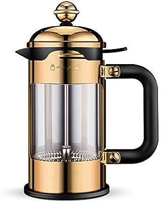 Zavddy-Home Cafeteras de émbolo 304 Manual de Acero Inoxidable ...