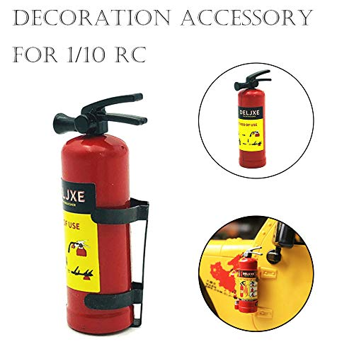 (Hisoul for Axial SCX10 TRX4 New 1/10 RC Multicolor Mini Fire Extinguisher Model Crawler Accessory Parts (Multicolor))