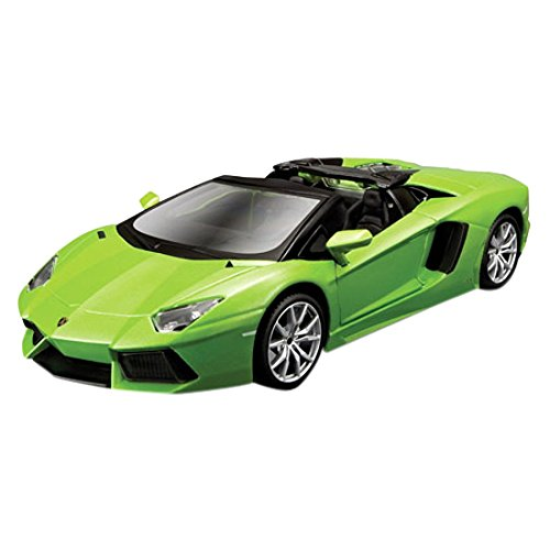 Maisto Assembly Line Lamborghini Aventador Roadster Die Cast Model Kit (1:24 (24 Metal Model Kit)