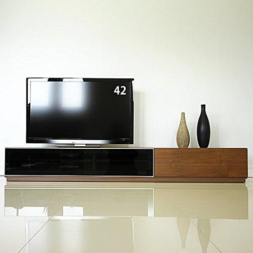 GENERLA SHAPE(ジェネラル シェイプ) テレビ台 テレビボード ローボード 210 大型 国産 日本製 ウォールナット 引き出し 収納 40 50 60 インチ対応 完成品 [GS-210TV Board Wide Low/WN] B00A71YBMU