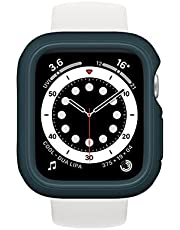 RhinoShield Bumper Case Compatible with Apple Watch SE & Series 6/5 / 4 - [40mm]   Slim Protective Cover, Lightweight and Shock Absorbent - Dark Teal
