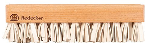 Redecker Natural Lint Brush with Oiled Beechwood, 7-1/4-Inches (Rubber Lint Brush)