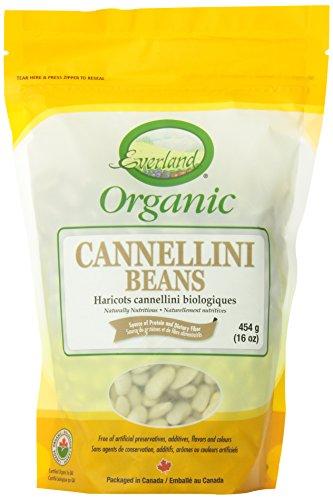 Everland Organic Cannellini Beans, 454gm
