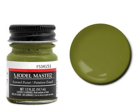 - Interior Green Enamel Paint .5 oz bottle FS34151