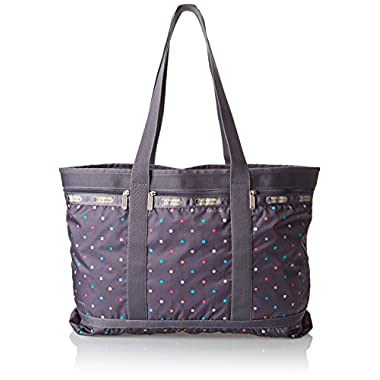 LeSportsac Travel Tote Handbag,Chromatic Dot,One Size