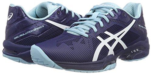 Gel 4901 Indigo Bleu bleu Chaussures 3 Asics Femme Pour Speed solution Tennis De Blu aqOpX