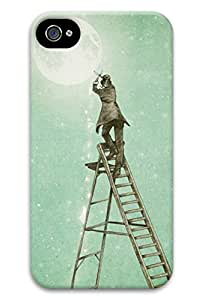 iphone 4/4s Case--Waning Moon