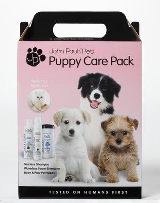 John Paul Pet Puppy Pack Shampoo