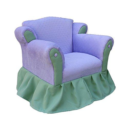KEET Princess Kid's Chair, Lavender/Green