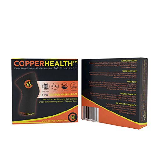 Review CopperHealth Unisex Copper Knee
