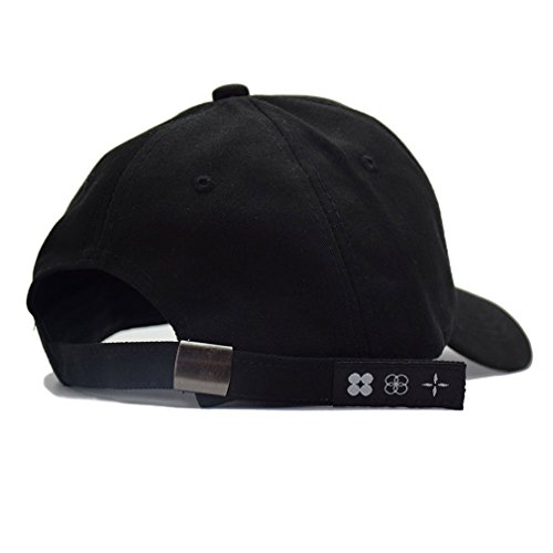 698a9505a5c Kokkn BTS Baseball Cap Wings Kpop Bangtan Boys Outdoor Iron Ring Snapback  Hat Casual Adjustable Dad Hat Hip Hop Hat (Black Ring). Black Ring
