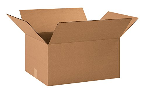 Aviditi 201510 Corrugated Box, 20'' Length x 15'' Width x 10'' Height, Kraft (Bundle of 20) by Aviditi