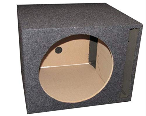 (Q Power Single 10-Inch Vented Unloaded Box)
