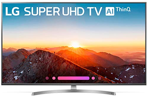LG Electronics 55SK8000PUA 55-Inch 4K Ultra HD Smart LED TV (2018 Model) (Certified Refurbished)