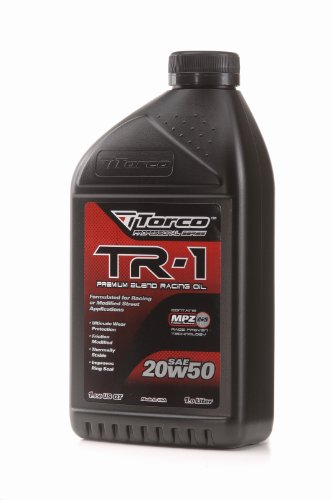 Torco Motorcycle Oil - Torco A142050C TR-1 20w50 Racing Oil Bottle - 1 Liter Bottle, (Case of 12)