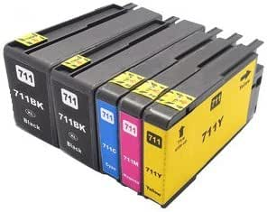 Printing Pleasure 5 Cartuchos de Tinta compatibles para HP ...