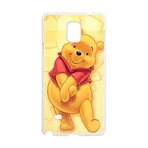 Custom Unique Design Winnie The Pooh Samsung Galaxy Note 4 Silicone Case by icecream design