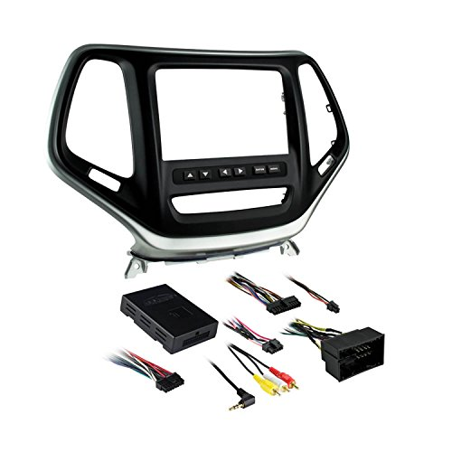 Metra Electronics 99-6526S Custom Fit Mounting Kit ISO Double DIN Radio Provision Incl.: Interface Shows Climate And Menu Info/Radio Trim Panel/Radio Brackets/Axxess Interface and Wiring Harness Custom Fit Mounting Kit