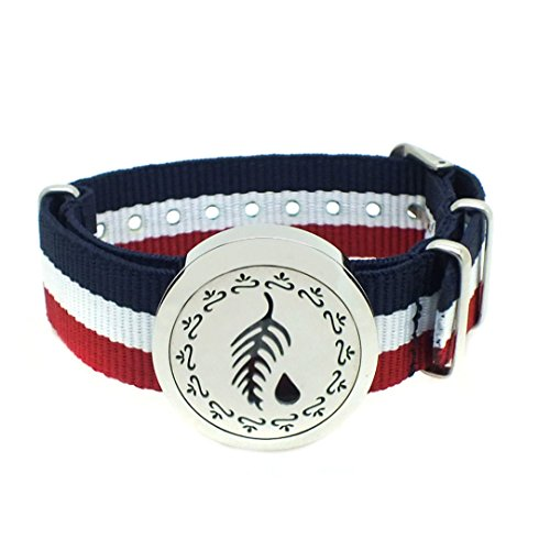 Efantina Essential Oils Diffuser Bracelets, 30mm 316L Stainl