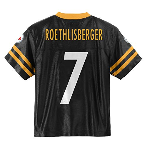 Outerstuff Ben Roethlisberger Pittsburgh Steelers #7 Black