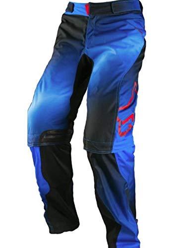 Fox Racing Switch Kenis Women's Dirt Bike Motorcycle Pants - Blue/Red / 13/ 14 ()