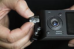 Lexar High-Endurance microSDXC 64GB UHS-I Card w/SD Adapter - LSDMI64GBBNLHEA