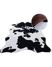 WYL Vloerkleed, tapijt, woonkamer, carpet designer tapijt, modern koeienvacht, tapijt, kunstbont, voor woonkamer, slaapkamer, hal enz