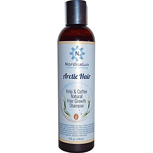 Hair Loss Kelp (Kelp and Coffee Conditioner - An all-natural hair growth conditioner with 100% Fresh Pressed Espresso, and Organic Iceland Geothermal Kelp)