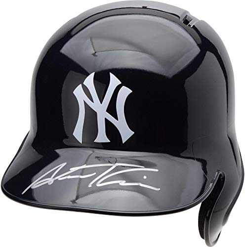 Austin Romine New York Yankees Autographed Replica Batting Helmet - Fanatics Authentic Certified - Autographed MLB Helmets