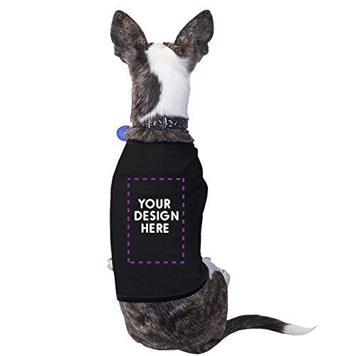 Personalized Dog Shirt - 365 Printing Black Custom Pet Shirt Personalized Dog Shirt Gift Small Pet Only