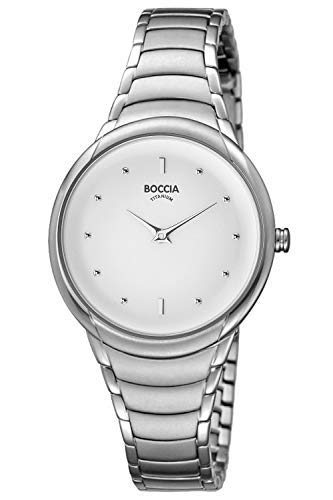 Boccia Womens Analogue Quartz Watch with Titanium Strap 3276-12