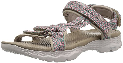 Skechers Performance Women's Go Walk Outdoors-Runyon Sport Sandal, Taupe, 8 M US