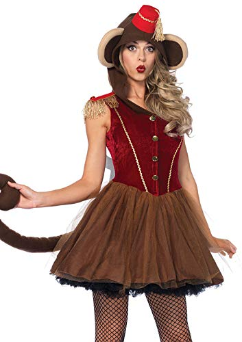Monkey Costume Women (Leg Avenue Women's Costume, Brown,)