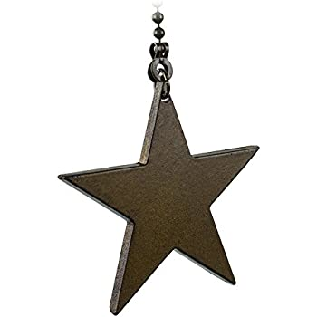 Barn Star Ceiling Fan Pull Or Light Pull Chain Ceiling