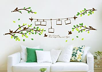 Wall Sticker Trees With Photo Frames Part 81