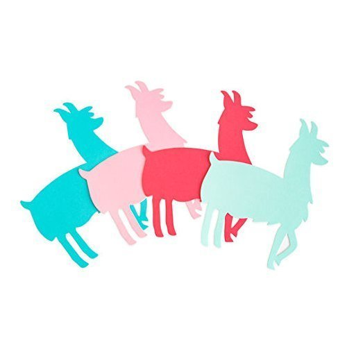 Llama Paper Cut Outs, Crafts, Scrapbooking, Invitations from HappyPeople