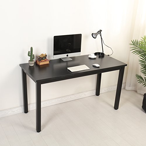 Mr Ironstone Computer Desk 55'' PC Laptop Study Writing Utility Table Multipurpose Workstation for Home Office by Mr IRONSTONE