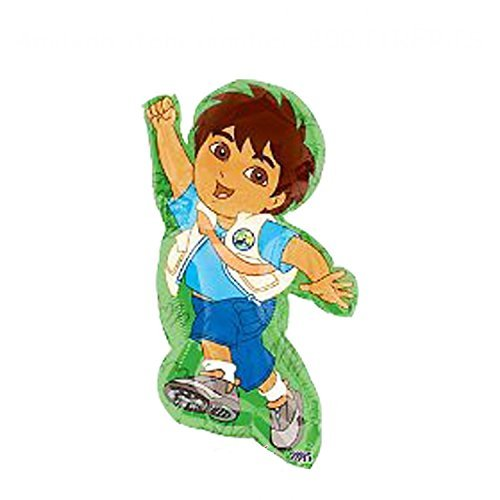 Go Diego Go Mylar Balloon Super Shape Pkg/5 -