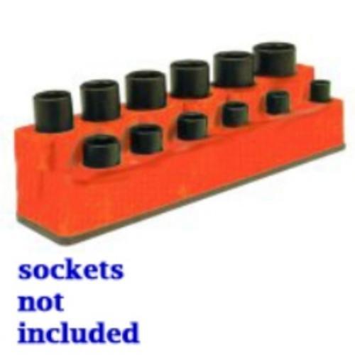 Mechanics Time Saver 1381 Soc HOL 3//8 Imp Mag Base Red