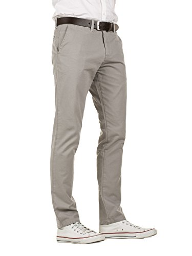 173802 Pantalon grey Ceinture Chino Homme Avec Slim Yazubi Fit Kyle Gris Gull 1gPUq5w