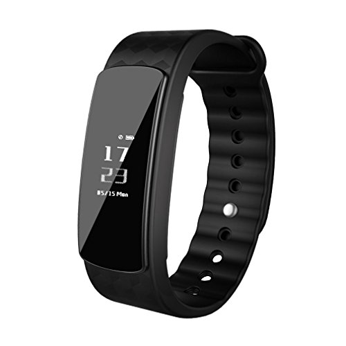 LESHP Sports Fitness Tracker, Smart Bluetooth Bracelet Pedometer Activity Tracker Smart Wristband with Sleep Monitor / Remote Shoot, Calls / Texts / Sitting, Calorie Counter for Android IOS