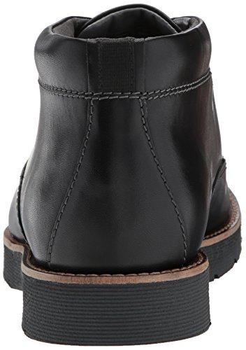 Clarks , Herren Stiefel Black Leather
