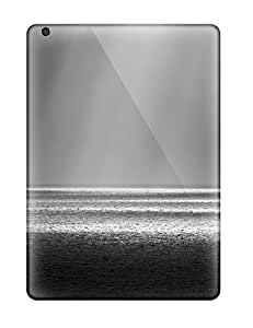 Tpu Case Cover For Ipad Air Strong Protect Case - Light At Sea Monochrome Nature Other Design