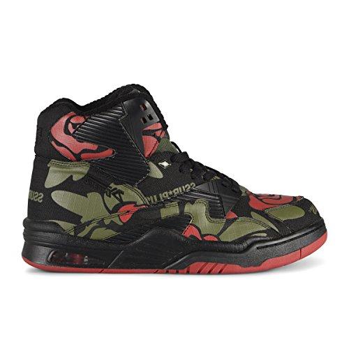 Britse Ridders Controle Hi Ssur Rose Camo Heren Hi-top Lederen Sneaker Rose Camo