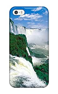 Shock Dirt Proof Iguazu Waterfalls Case Cover For Iphone 5/5s