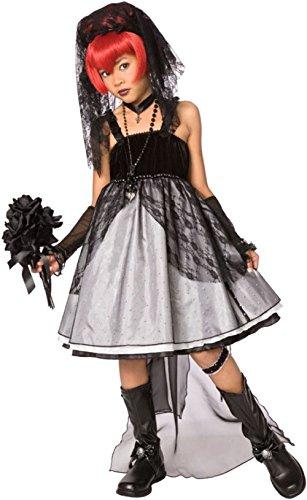 Dark Bride Costumes For Kids (Costumes For All Occasions Lf3017Cmd Dark Bride Child Medium)