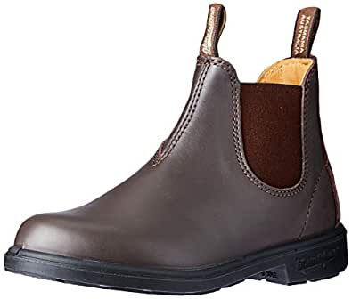 Blundstone Kids Elastic Side Boot, Brown, 1