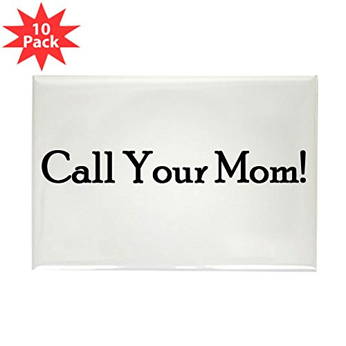 CafePress Call Your Mom! Rectangle Magnet, 2
